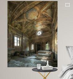 Neu in meiner Galerie bei OhMyPrints: Verlassene Kirche - Lost Place #lostplace #verlasseneorte