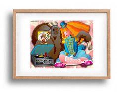 DOWNLOAD ISTANTANEO. Poster, Are We Not Sloths, colori, Arte da appendere, Decorazione muro, Idea regalo. -       Modifica inserzione   - Etsy