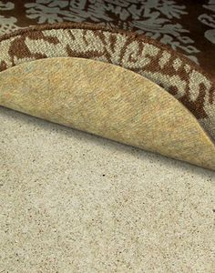 Superior thick felt rug pad is made in the USA of recycled fibers. Superior protects any area rug from damage and wear. Superior offers thick comfort and insulates against cold and noise on all floors.
