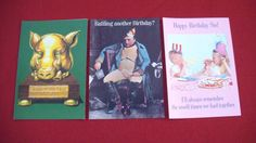 Vintage Paper Moon Graphics Greeting Cards 1970's 80's