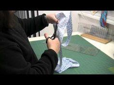 conclusion of continuous bias binding tutorial Quilting Tips, Quilting Tutorials, Sewing Tutorials, Sewing Patterns, Bias Binding, Quilt Binding, Patchwork Tutorial, Bias Tape, Sewing Studio
