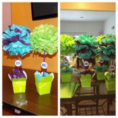 Monsters Inc. Centerpieces
