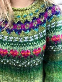 Fair Isle Knitting Patterns, Knitting Projects, Knit Cardigan, Mantel, Style Me, Knit Crochet, Fashion Outfits, Clothes, Wool Sweaters