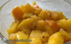 Alma chutney (csatni) recept fotóval