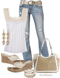 "Cute spring/summer outfit ""Untitled #134"" by elizawashi1 ❤ liked on Polyvore"