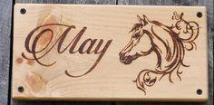 Custom Handmade Wood Burned Horse Stall Signs! https://www.etsy.com/listing/286257163/custom-personalized-handmade-wood-burned?ref=shop_home_feat_1