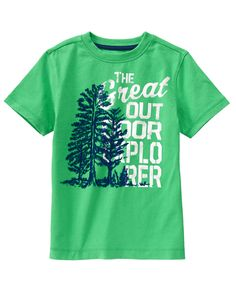 Great Outdoors Tee at Gymboree (Gymboree 4-10)
