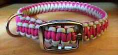 Paracord Adjustable Dog Collar by twodogspro. Explore more products on http://twodogspro.etsy.com
