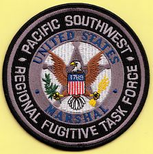 US MARSHAL PACIFIC SOUTHWEST RFTF PATCH