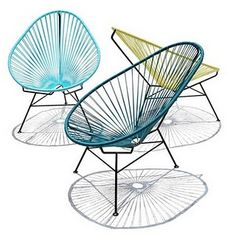 Love this fun Acapulco chair Udara Design - Carissa Donsker