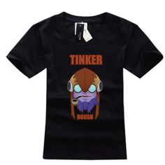 DOTA 2 Tinker Cotton graphic tees | Wishining