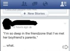 friend zone.....level 9000