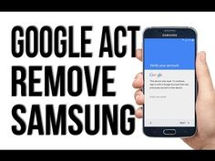 (ODIN METHOD) BYPASS, DELETE, REMOVE GOOGLE ACCOUNT (S7 and ALL SAMSUNG) - YouTube