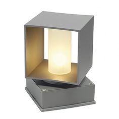 SQUARE TURN G9 FLOOR Bodenleuchte, eckig, silbergrau, max. 42W / LED24-LED Shop