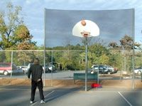 Basketball net,airball grabber, custom basketball nets, basketball barrier netting, netting