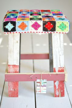 wood & wool stool carmen  by wood & wool stool, via Flickr