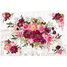 Give your furniture DIY projects that English garden feel when you use the Royal Burgundy Decor Transfer by Re-Design. There are 6 transfer sheets with one design included in the package that measures x Diy Furniture Projects, Furniture Decor, Painted Furniture, Diy Projects, Decoupage Furniture, Repurposed Furniture, Furniture Refinishing, Bedroom Furniture, Floral Furniture