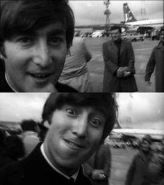 John Lennon's dork face here. | 19 Things Only Beatles Fans Will Find Funny