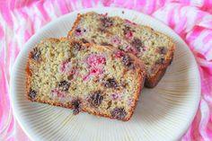 Brunch idea - Dark Chocolate Raspberry Banana Bread from Sally's Baking Addiction