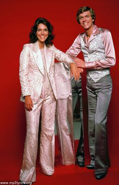 THE CARPENTERS(1969-1983)    Richard  10/15/1946      Karen   (3/2/1950 -2/04/1983)