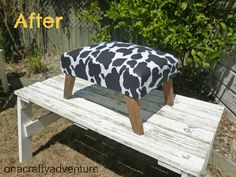 Footstool After!