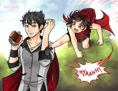 April Patreon Reward: Training with uncle Qrow by manu-chann