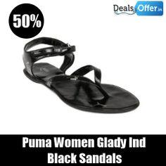 1f98c670203c Puma Women Glady Ind Black Sandals   649