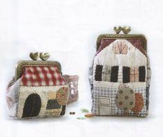 PDF Pattern of Sweet Home House 2 size coin par Patternsinlove, $5.00