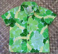 A boy's aloha shirt for a young hula master in a by SewMeHawaii, $18.00