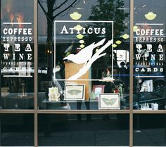 Atticus, in Spokane, Wa. Coffee & gifts, and ... literary bliss.