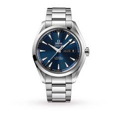 Mens Watches - Omega Aquaterra Mens Watch - O23110432203002