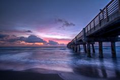 Benny's on the Beach is located right on the Lake Worth Pier! www.Bennysonthebeach.com