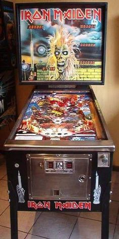 Which Iron Maiden album are you going to listen to while playing this? If you or someone you know is in need of pinball repairs contact me at pinwiz19bob@gmail.com #pinball #pinballmachine #pinballgame #game #repairs #restore #retro #oldschool #pinballwizard #passion #entreprenuer #fun #drpinball