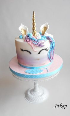 Unicorn cake - cake by Jitkap