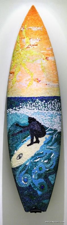 mosaic surfboard - This is Incredible!!!