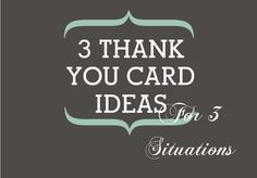 On Thank You Card Ideas and Their Vastly Underrated Power