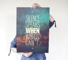 Silence Speaks When Words Cant Phonecase Cover Case For Apple Ipad 2 Ipad 3 Ipad 4 Ipad Mini 2 Ipad Mini 3 Ipad Mini 4 Ipad Air Ipad Air 2 Speak Quotes, Quotes To Live By, Me Quotes, Daily Quotes, More Than Words, Some Words, Quote Prints, Beautiful Words, Beautiful Life