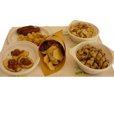 Piatti che abbiamo mangiato alla sagra di Palmiano