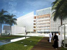 Gallery of Sheikh Khalifa Medical City in Abu Dhabi / SOM - 11