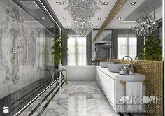 Znalezione obrazy dla zapytania łazienka drzwi design glamour cube