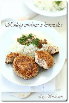 Kotlety mielone z kurczaka Chicken Balls, Polish Recipes, Poultry, Mashed Potatoes, Main Dishes, Good Food, Breakfast, Ethnic Recipes, Dinner Ideas