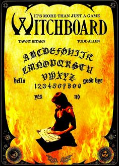 WITCHBOARD DVD
