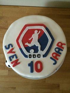 Sven plays soccer at ODC.  (Overwinning door Combinatie