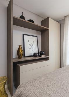 Quarto e home office on pinterest quartos quarto de - Luz armario ikea ...