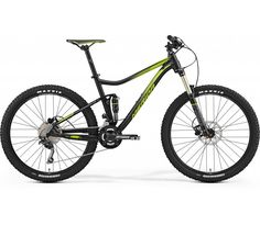 Merida One Twenty 7.500 Mountain Bike [Black/Green] (2017) | 99 Bikes