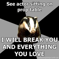 NOT YOUR TABLE!!! (Tech Theatre Problems)