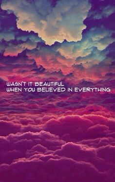 ...and everybody believed in you... Innocent - Taylor Swift