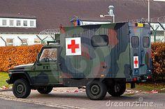 Dutch military field ambulance. Mercedes-Benz 290