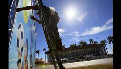 FOTOS: Brasil apura los últimos ajustes para inaugurar la Copa Confederaciones 2013