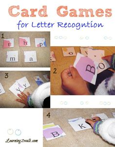 Using card games to teach letter recognition in preschool reading